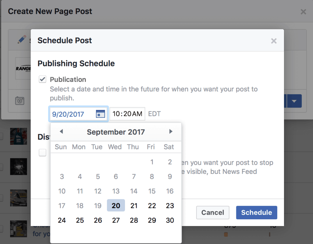 facebook schedule post 2