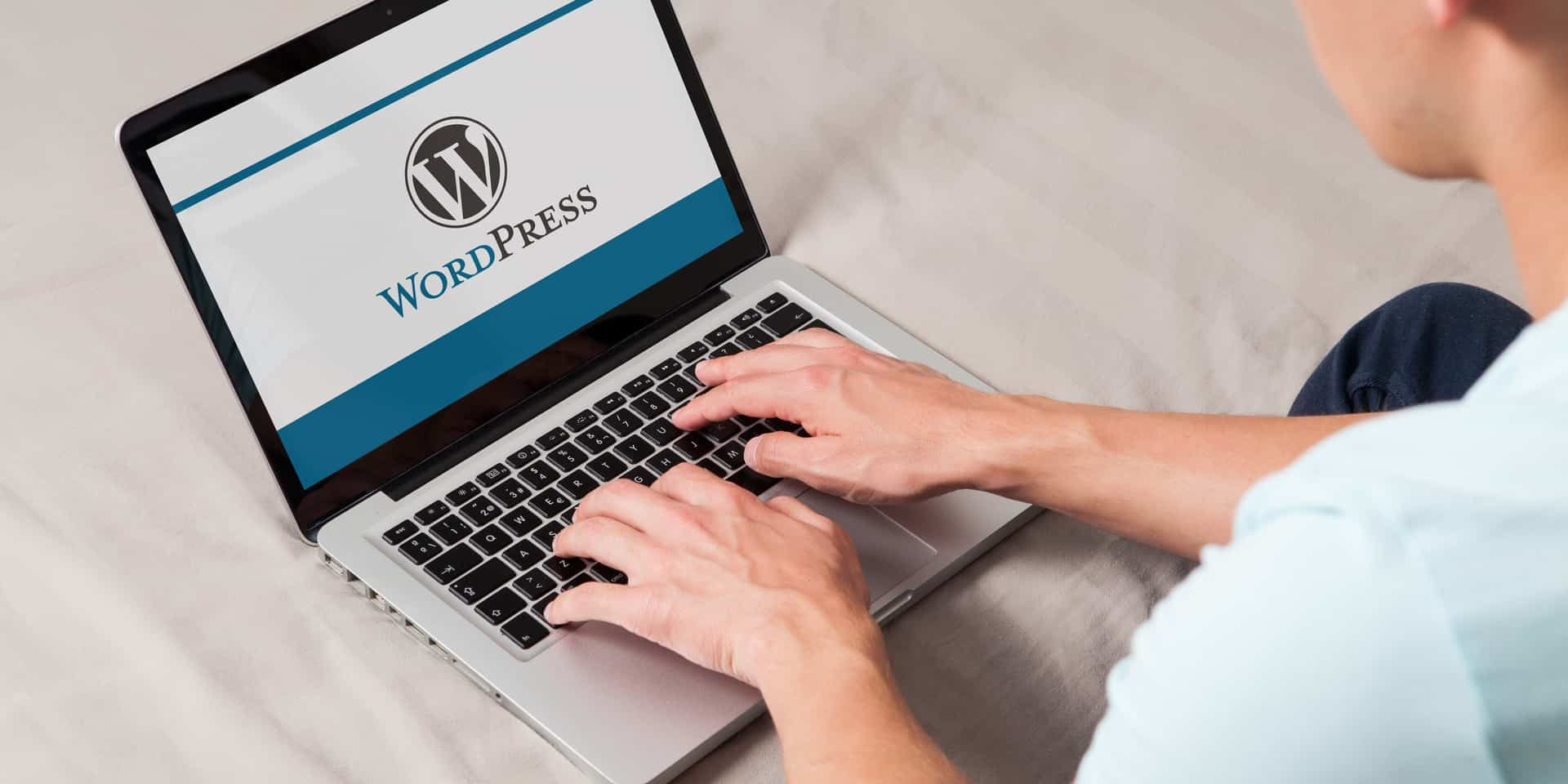 Person goes on popular blogging website WordPress